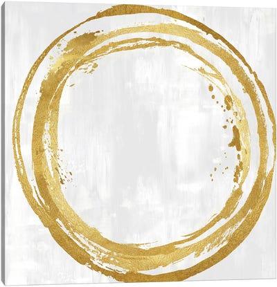 Circle Gold I Canvas Art Print