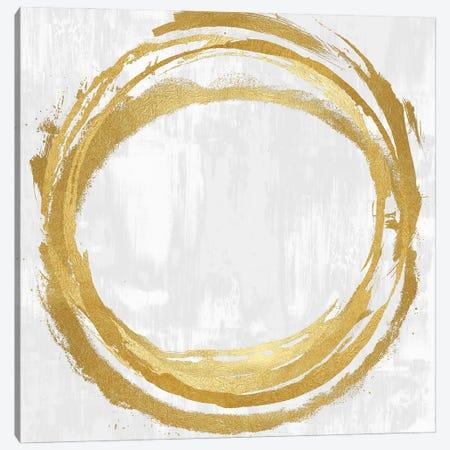 Circle Gold II Canvas Print #NHS6} by Natalie Harris Canvas Print