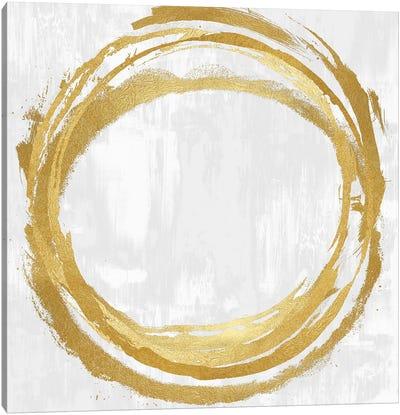Circle Gold II Canvas Art Print