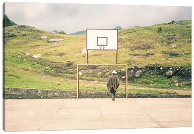 Streetball Courts 2 El Cocuy, Colombia Canvas Art Print