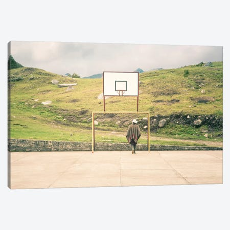Streetball Courts 2 El Cocuy, Colombia Canvas Print #NIA100} by Joe Mania Canvas Art