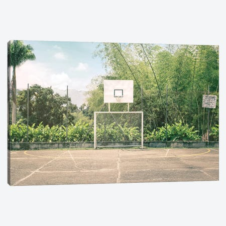 Streetball Courts 2 Manizales, Colombia Canvas Print #NIA101} by Joe Mania Canvas Wall Art