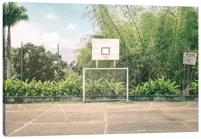 Streetball Courts 2 Manizales, Colombia Canvas Art Print