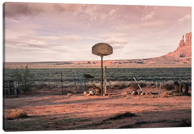 Streetball Courts 2 Utah, USA Canvas Art Print