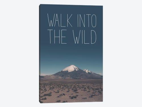 Typographic Quotes 60 Walk Into The Wild Canvas Wa Joe Mania Enchanting Into The Wild Book Quotes