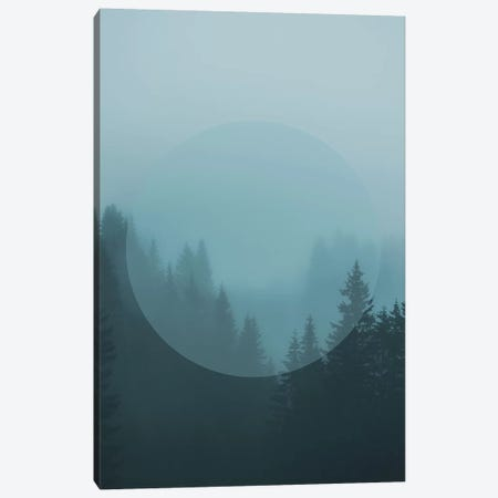Landscapes Circular 2  Karwendel (Turquoise Circle) Canvas Print #NIA12} by Joe Mania Canvas Art