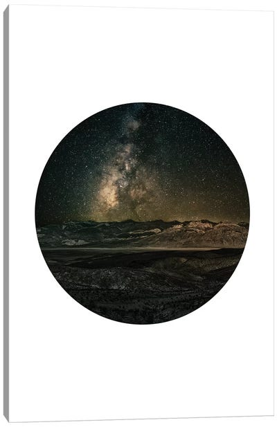 Landscapes Circular 3  Death Valley Canvas Art Print