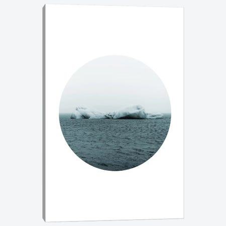 Landscapes Circular 3  Jökulsárlón Canvas Print #NIA14} by Joe Mania Art Print