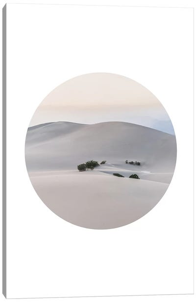 Landscapes Circular 4  Death Valley Canvas Art Print