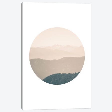 Landscapes Circular 4  Karwendel Canvas Print #NIA18} by Joe Mania Canvas Art