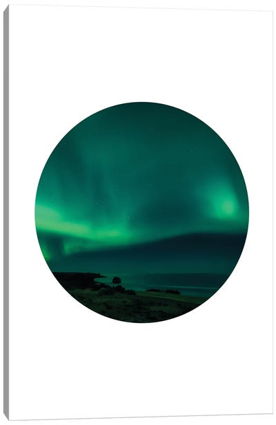 Landscapes Circular 4  Skardsvik Canvas Art Print