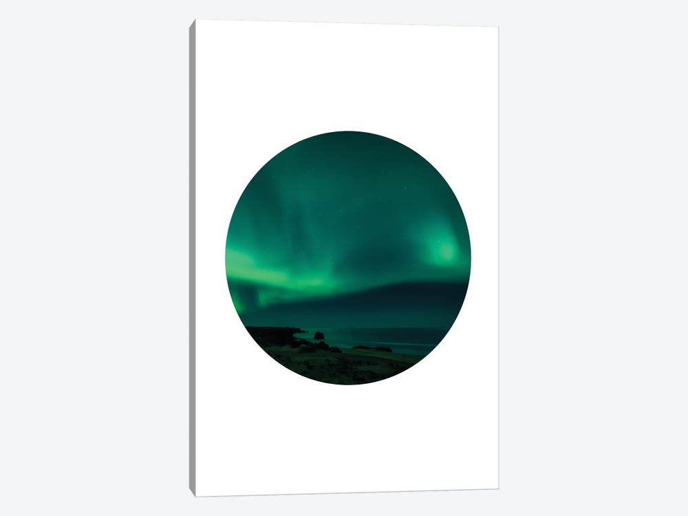 Landscapes Circular 4  Skardsvik by Joe Mania 1-piece Canvas Art Print