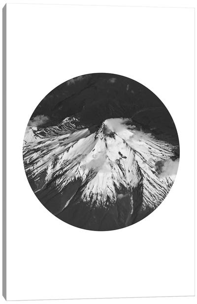 Landscapes Circular 4 Andes Canvas Art Print