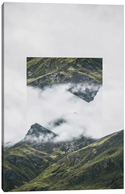 Landscapes Mirrored 1 Andes Canvas Art Print