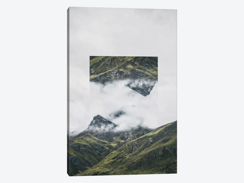 Landscapes Mirrored 1 Andes by Joe Mania 1-piece Canvas Artwork