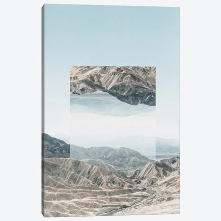 Landscapes Mirrored 1 Death Valley Canvas Print #NIA22} by Joe Mania Canvas Art Print