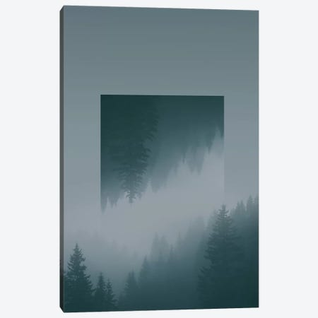 Landscapes Mirrored 1 Karwendel Canvas Print #NIA23} by Joe Mania Art Print