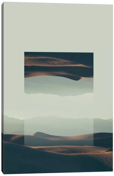 Landscapes Mirrored 2 Death Valley Canvas Art Print