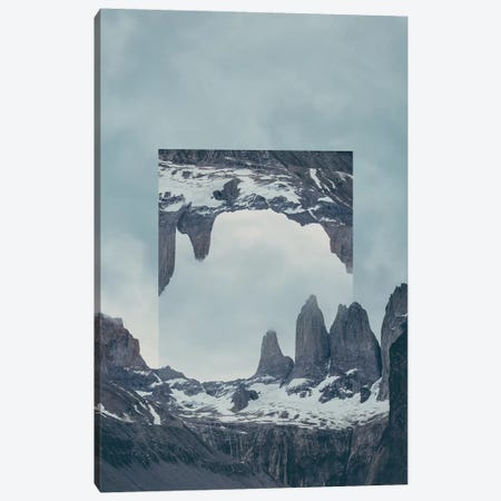 Landscapes Mirrored 2 Torres del Paine Canvas Print #NIA28} by Joe Mania Canvas Art Print