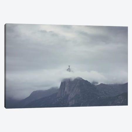 Landscapes Raw 1 Corcovado, Brasil Canvas Print #NIA29} by Joe Mania Canvas Print