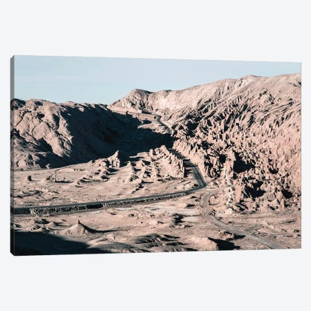 Landscapes Raw 1 Valle de la Luna, Chile Canvas Print #NIA31} by Joe Mania Canvas Wall Art