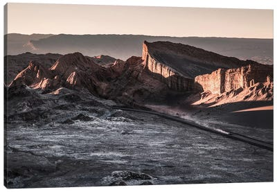 Landscapes Raw 2 Valle de la Luna, Chile Canvas Art Print