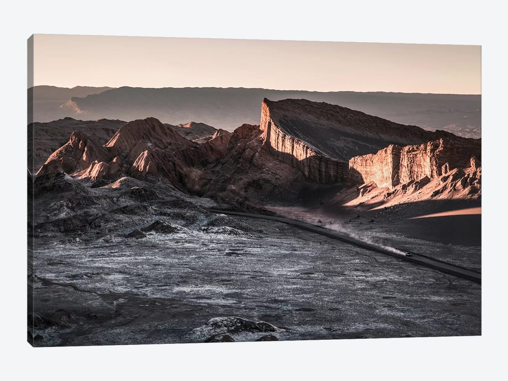 Landscapes Raw 2 Valle de la Luna, Chile by Joe Mania 1-piece Canvas Art