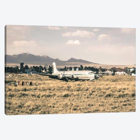 Landscapes Raw 3 La Paz, Bolivia Canvas Print #NIA38} by Joe Mania Canvas Artwork