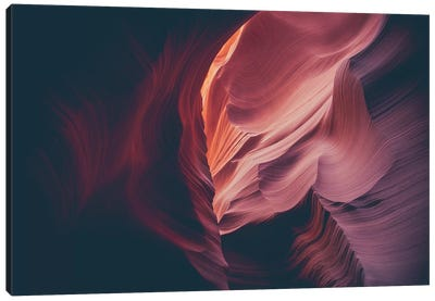 Landscapes Raw 4 Antelope Canyon, USA Canvas Art Print