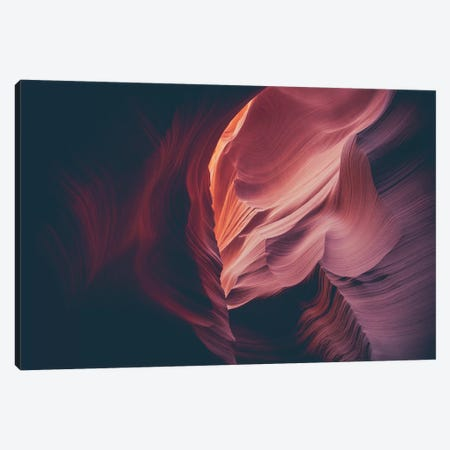 Landscapes Raw 4 Antelope Canyon, USA Canvas Print #NIA41} by Joe Mania Canvas Print