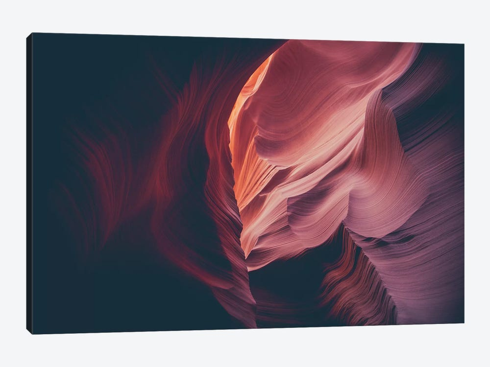 Landscapes Raw 4 Antelope Canyon, USA by Joe Mania 1-piece Canvas Wall Art