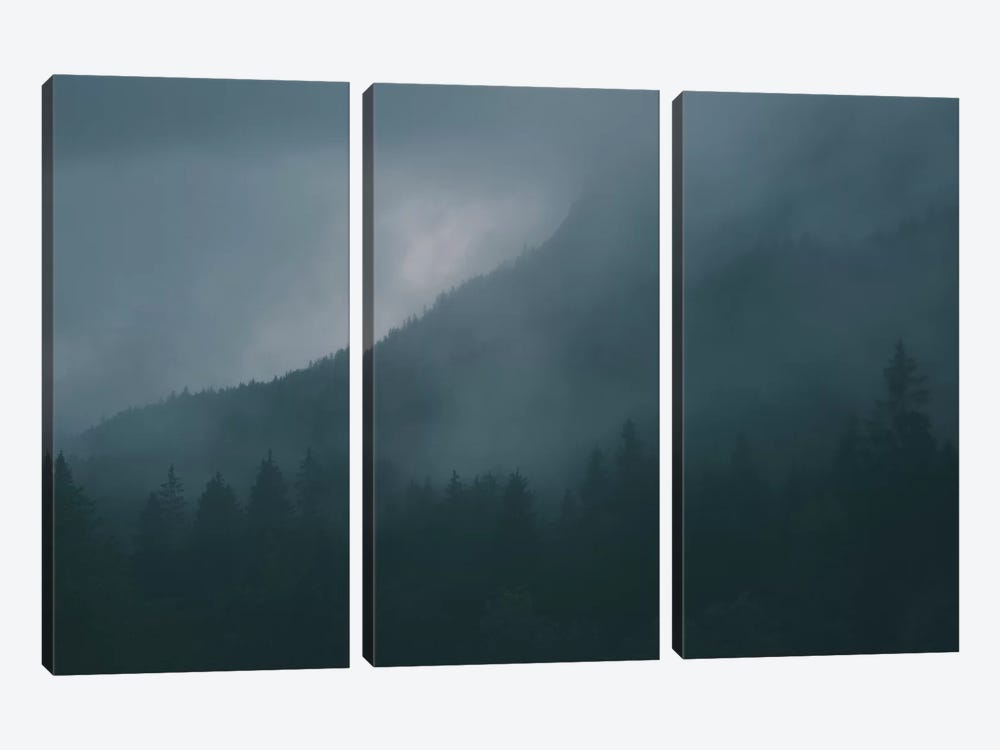 Landscapes Raw 4 Karwendel, Austria by Joe Mania 3-piece Art Print
