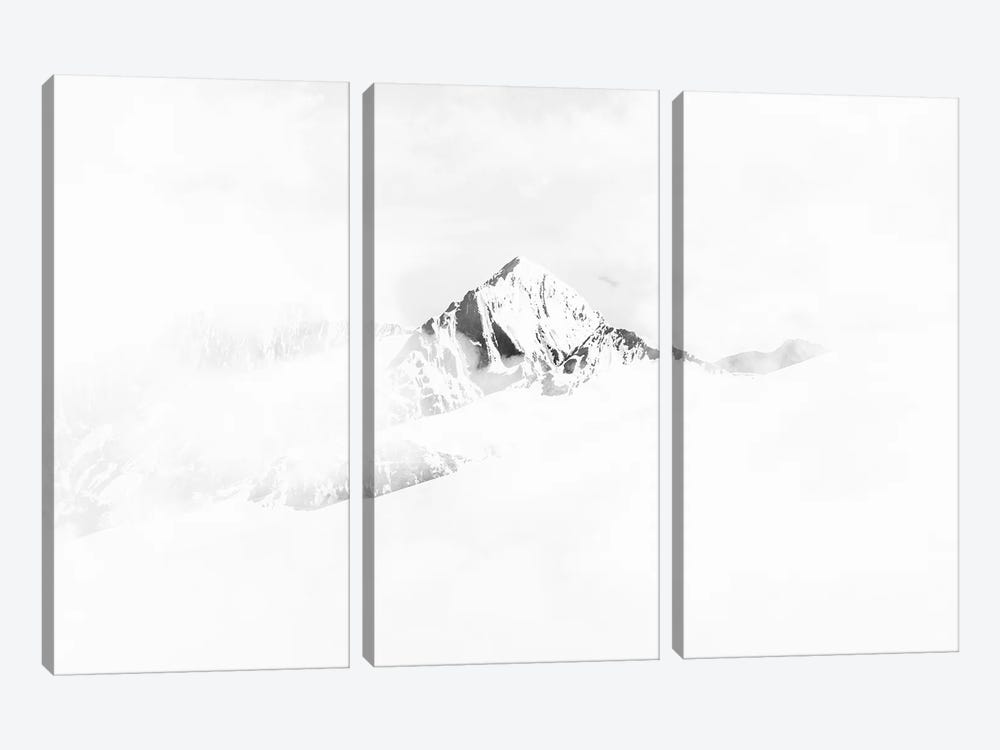 Landscapes Raw 4 Vallunaraju, Colombia by Joe Mania 3-piece Canvas Art Print