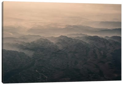 Landscapes Raw 5 Andes, Chile Canvas Art Print
