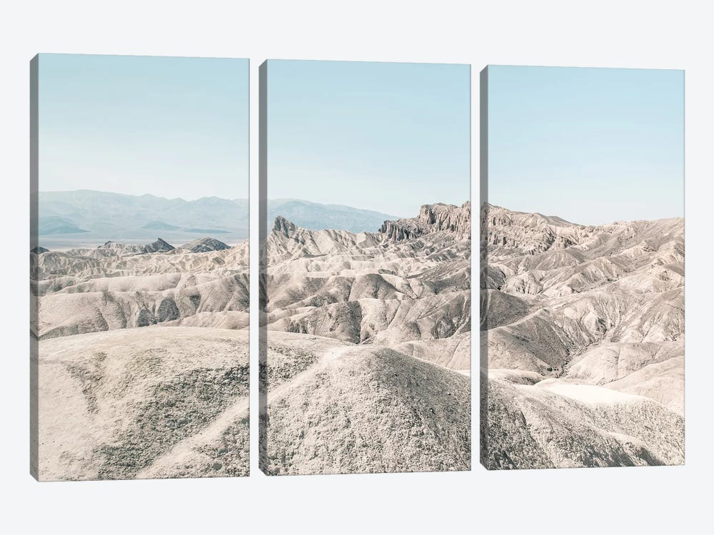 Landscapes Raw 6 Golden Canyon, USA by Joe Mania 3-piece Canvas Art