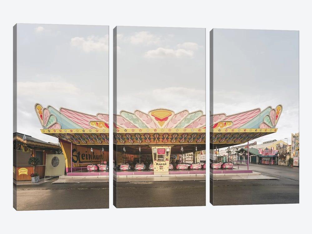 Bumper Cars 1  Steinhart by Joe Mania 3-piece Canvas Art Print