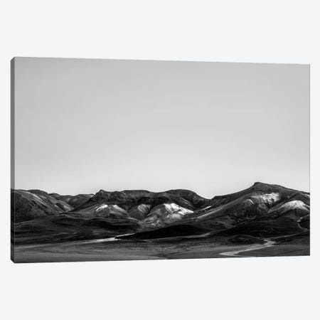 Landscapes Raw 6 Salar de Uyuni, Bolivia Canvas Print #NIA52} by Joe Mania Canvas Wall Art