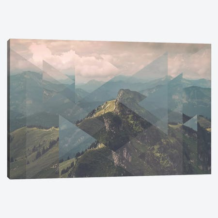 Landscapes Scattered 1 Alps Canvas Print #NIA57} by Joe Mania Canvas Art Print