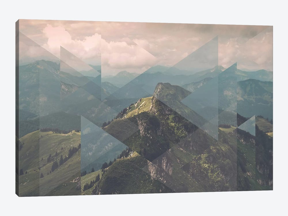 Landscapes Scattered 1 Alps by Joe Mania 1-piece Art Print