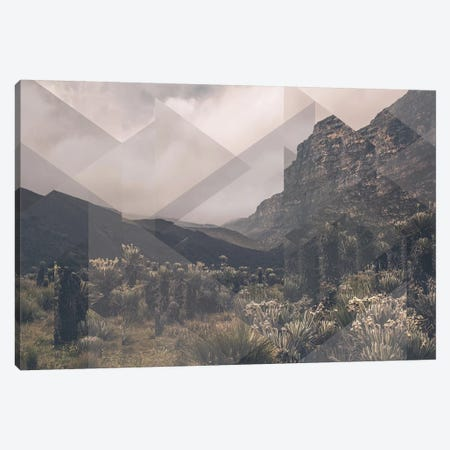 Landscapes Scattered 1 Huancayo Canvas Print #NIA58} by Joe Mania Canvas Art