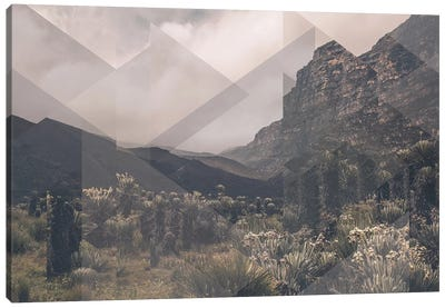 Landscapes Scattered 1 Huancayo Canvas Art Print