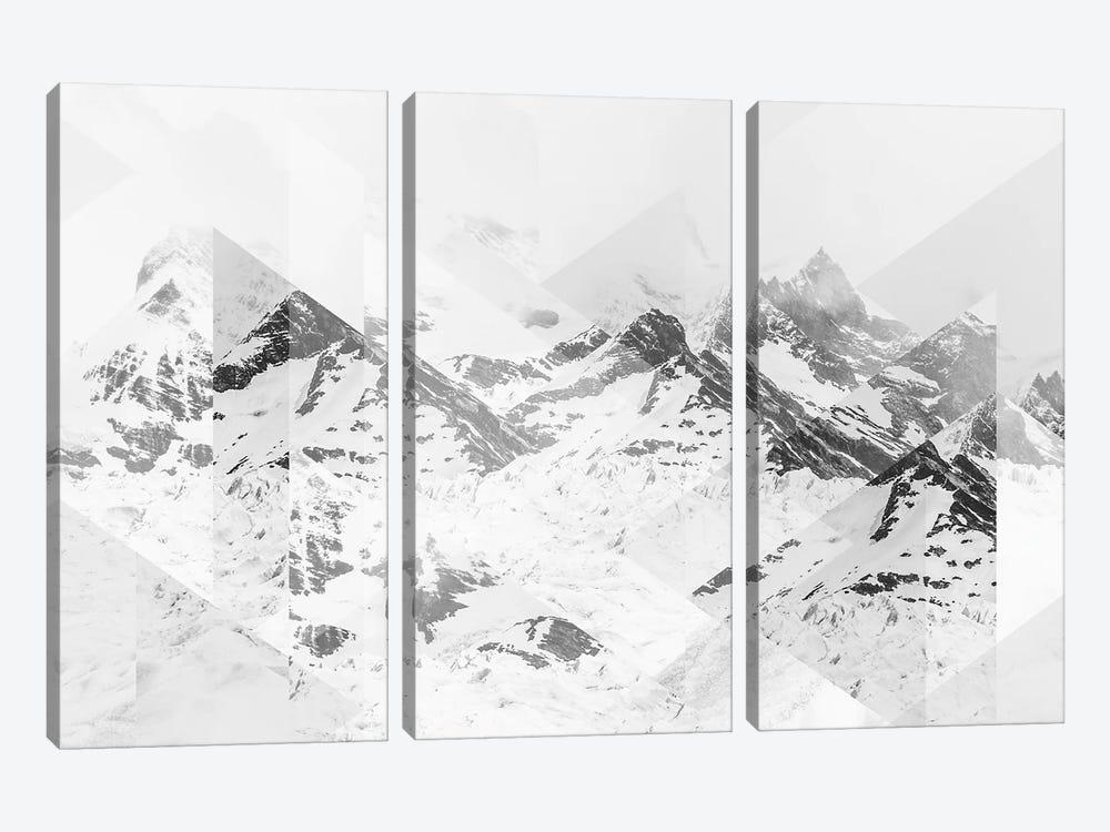 Landscapes Scattered 1 Perito Moreno by Joe Mania 3-piece Canvas Print