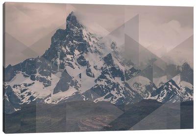 Landscapes Scattered 1 Puerto Natales Canvas Art Print