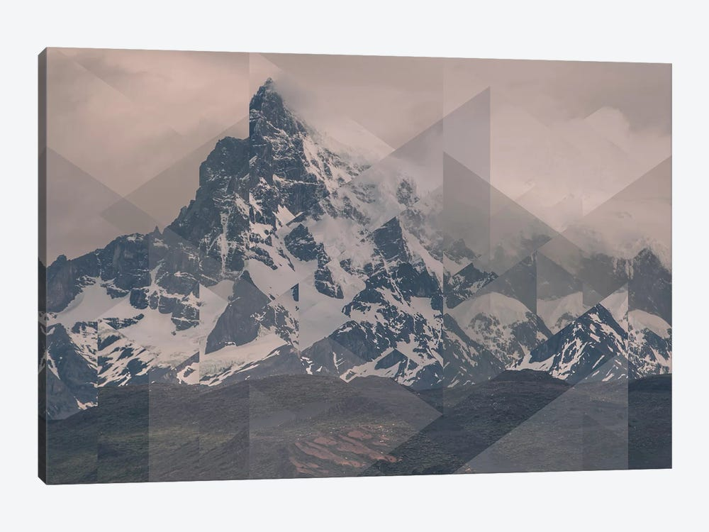 Landscapes Scattered 1 Puerto Natales by Joe Mania 1-piece Canvas Print