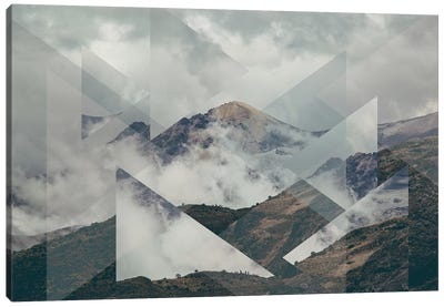 Landscapes Scattered 2 Nevado del Ruiz Canvas Art Print