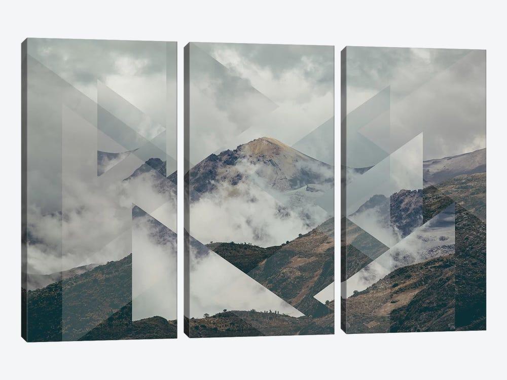 Landscapes Scattered 2 Nevado del Ruiz by Joe Mania 3-piece Art Print