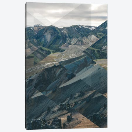 Landscapes Scattered 3 Landmannalaugar Canvas Print #NIA66} by Joe Mania Canvas Artwork