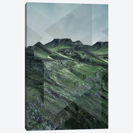 Landscapes Scattered 3 Thorsmörk Canvas Print #NIA68} by Joe Mania Art Print