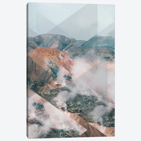 Landscapes Scattered 4 Landmannalaugar Canvas Print #NIA69} by Joe Mania Canvas Print