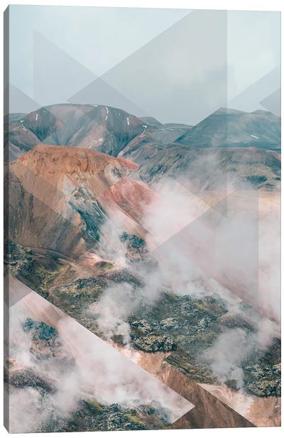 Landscapes Scattered 4 Landmannalaugar Canvas Art Print